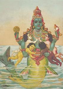 matsya-avatar-incarnation-lord-vishnu-dasavatara-story